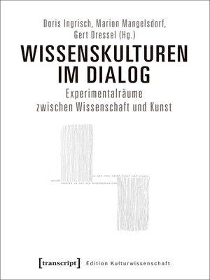 cover image of Wissenskulturen im Dialog