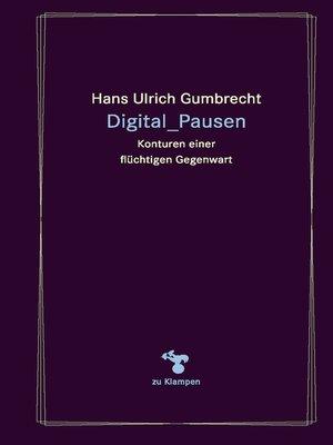 cover image of Digital_Pausen