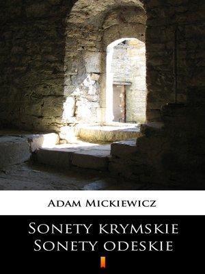 cover image of Sonety krymskie. Sonety odeskie