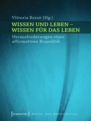 cover image of Wissen und Leben