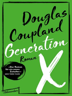 generation x douglas coupland ebook