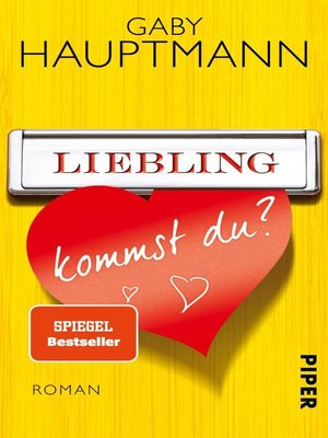 cover image of Liebling, kommst du?