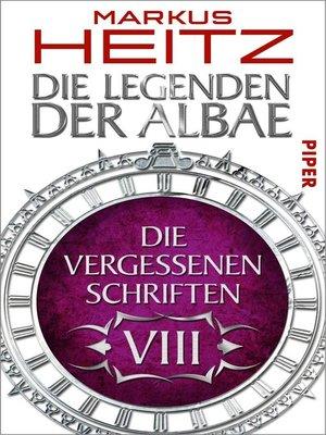 cover image of Die Vergessenen Schriften 8
