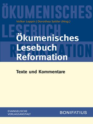 cover image of Ökumenisches Lesebuch Reformation
