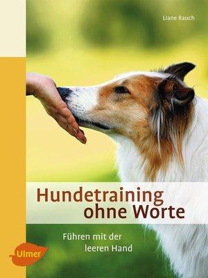 cover image of Hundetraining ohne Worte