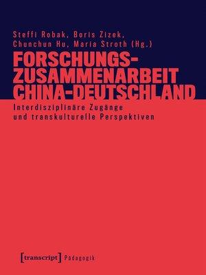cover image of Forschungszusammenarbeit China-Deutschland
