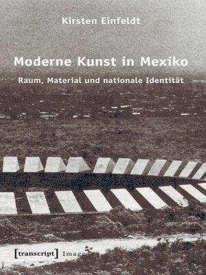 cover image of Moderne Kunst in Mexiko
