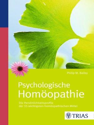 cover image of Psychologische Homöopathie