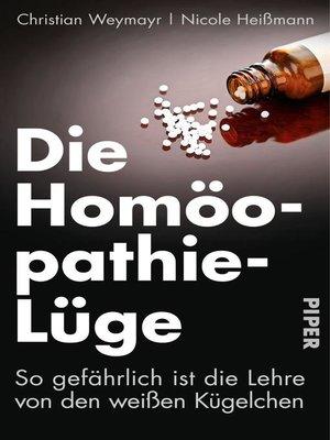 cover image of Die Homöopathie-Lüge