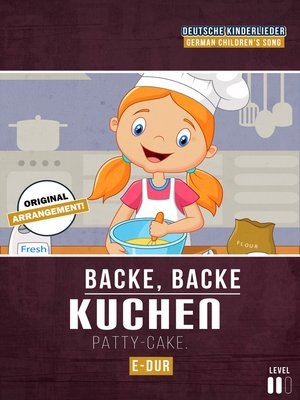 cover image of Backe, Backe Kuchen
