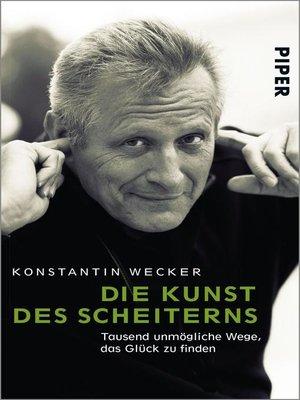 cover image of Die Kunst des Scheiterns