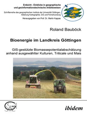 cover image of Bioenergie im Landkreis Göttingen