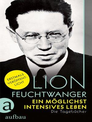 cover image of Ein möglichst intensives Leben