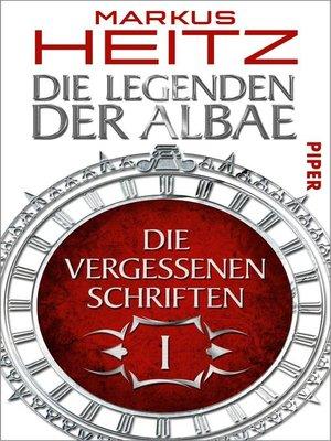 cover image of Die Vergessenen Schriften 1