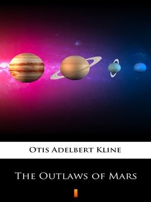 cover image of The Outlaws of Mars
