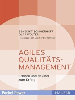 cover image of Agiles Qualitätsmanagement