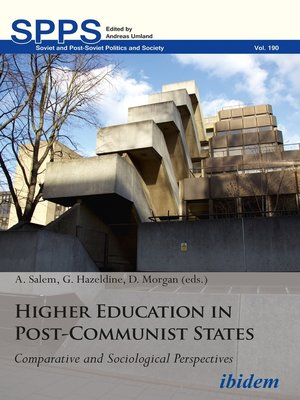 cover image of Higher Education in Post-Communist States