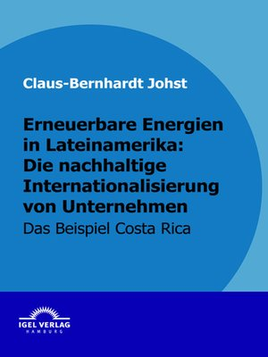 cover image of Erneuerbare Energien in Lateinamerika