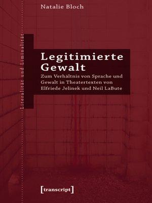 cover image of Legitimierte Gewalt