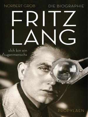 cover image of Fritz Lang