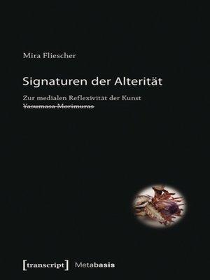 cover image of Signaturen der Alterität