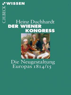 cover image of Der Wiener Kongress