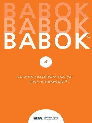 cover image of BABOK® v3