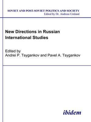 cover image of New Directions in Russian International Studies