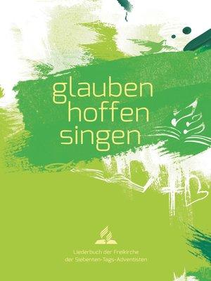 cover image of glauben-hoffen-singen