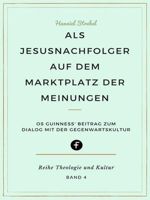 cover image of Als Jesusnachfolger auf dem Marktplatz der Meinungen