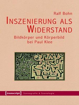 cover image of Inszenierung als Widerstand