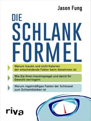 cover image of Die Schlankformel