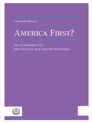 cover image of America First?
