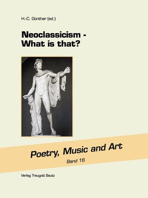 cover image of Neoclassicism
