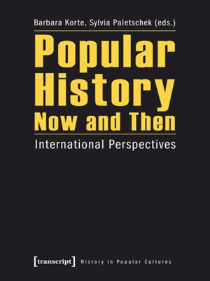 cover image of Popular History Now and Then