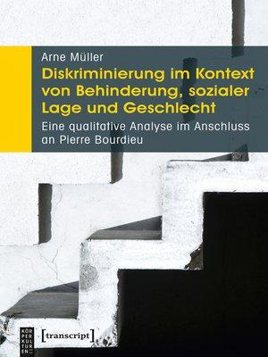 cover image of Diskriminierung im Kontext von Behinderung, sozialer Lage und Geschlecht