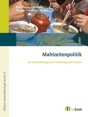 cover image of Mahlzeitenpolitik