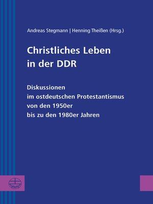 cover image of Christliches Leben in der DDR