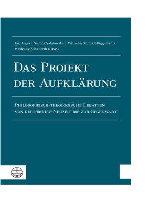 cover image of Das Projekt der Aufklärung