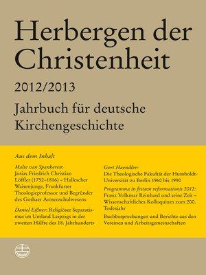 cover image of Herbergen der Christenheit 36/37