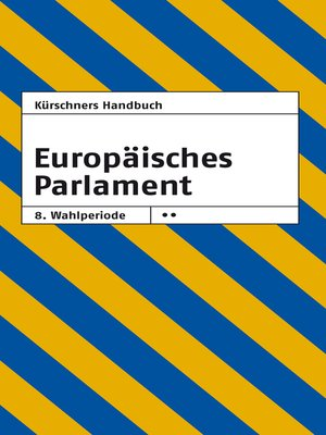 cover image of Kürschners Handbuch Europäisches Parlament