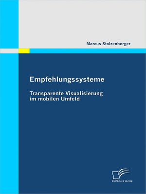 cover image of Empfehlungssysteme