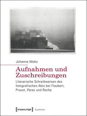 cover image of Aufnahmen und Zuschreibungen