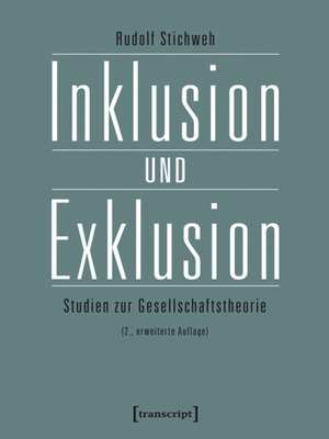 cover image of Inklusion und Exklusion