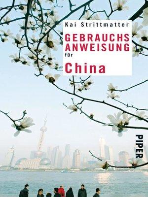 cover image of Gebrauchsanweisung für China