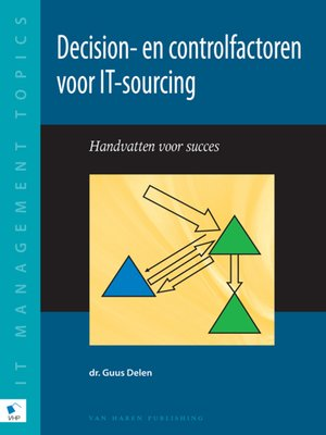 cover image of Decision- en controlfactoren voor IT--sourcing