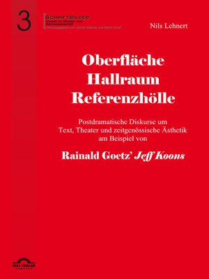 cover image of Oberfläche--Hallraum--Referenzhölle