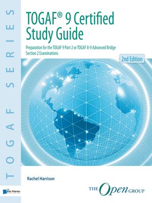 cover image of TOGAF® 9 Certified Study Guide