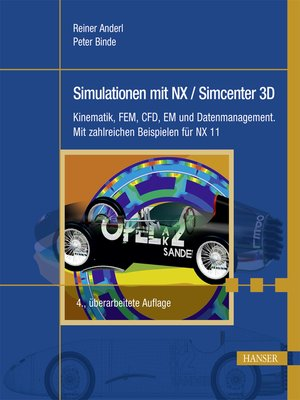 cover image of Simulationen mit NX / Simcenter 3D