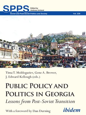 cover image of Public Policy and Politics in Georgia